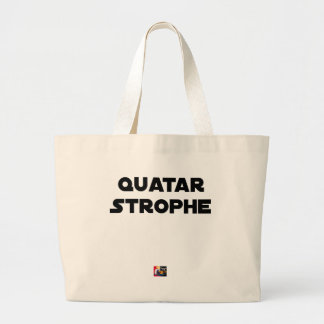 QUATAR STANZA - Word games - François City Large Tote Bag