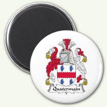 Quatermain Family Crest Magnet