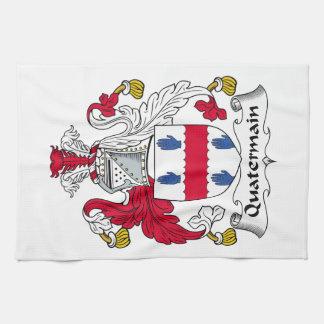 Quatermain Family Crest Kitchen Towels