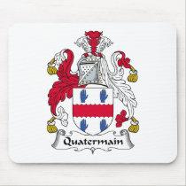 Quatermain Family Crest Mousepad