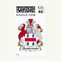 Quatermain Family Crest Stamps
