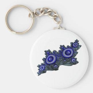 quaternion_d3) basic round button keychain