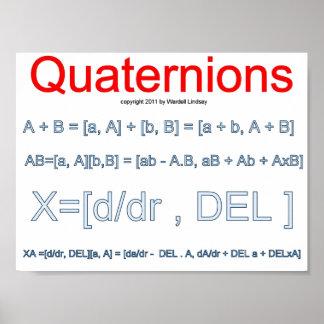Quaternion Mathematics Posters