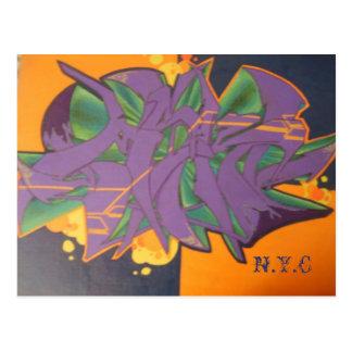 quaters, N.Y.C Postcard