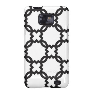 Quatrefoil Black and White | Customizable Galaxy SII Covers