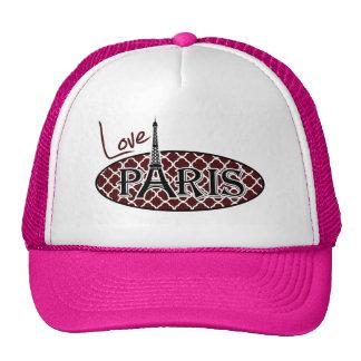 Quatrefoil color de rosa búlgaro; París Gorros