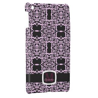 Quatrefoil Damask (Pink) iPad Mini Case