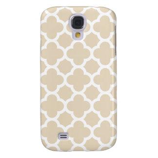 Quatrefoil Galaxy S4 Case in Ivory