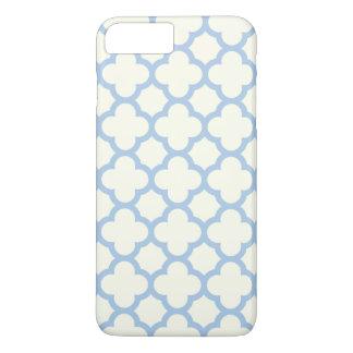 Quatrefoil iPhone 7 Plus Case in Pale Blue