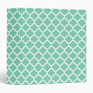 Quatrefoil Lattice Trellis Pattern Any Color Binder