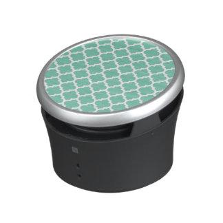 Quatrefoil Lattice Trellis Pattern Any Color Speaker