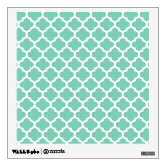 Quatrefoil Lattice Trellis Pattern Any Color Wall Decal