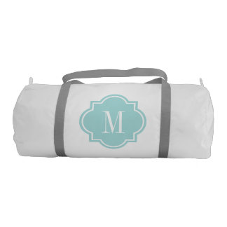Quatrefoil monogram duffle bag for women and girls