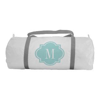 Quatrefoil monogram duffle bag for women and girls gym duffle bag