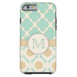 Quatrefoil Monogram Mally Mac iPhone 6 Case