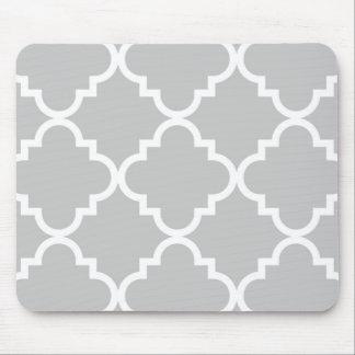 Quatrefoil Mousepad - gris Alfombrillas De Raton