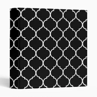 Quatrefoil Pattern Binder