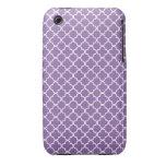 Quatrefoil Pattern Case-Mate iPhone 3 Case