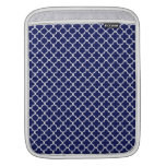 Quatrefoil Pattern Sleeves For iPads