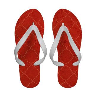 Quatrefoile Bohemian Grunge Premium Flip Flops