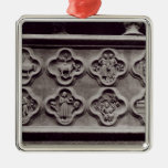 Quatrefoils with the Signs of the Zodiac Metal Ornament