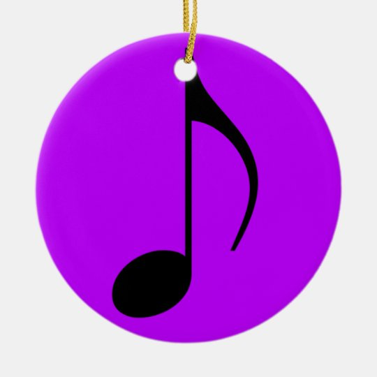 Quaver Note Ornament