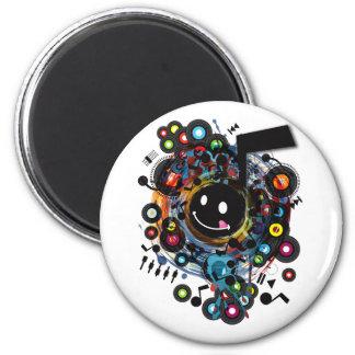 Quaver(S) 2 Inch Round Magnet