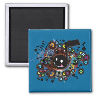 Quaver(S) 2 Inch Square Magnet
