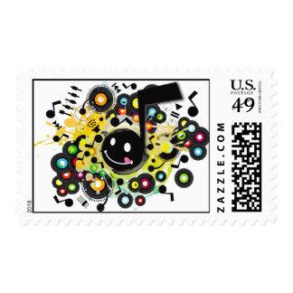 Quaver(S) Postage Stamp