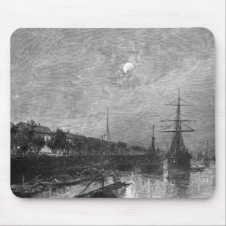 Quay at Hankou, 1893 Mouse Pad