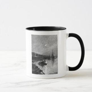 Quay at Hankou, 1893 Mug