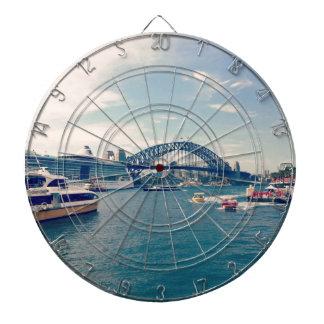 Quay circular tablero de dardos