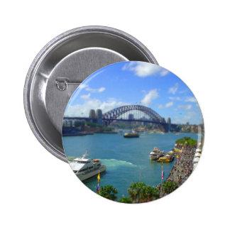 Quay circular Sydney Pins