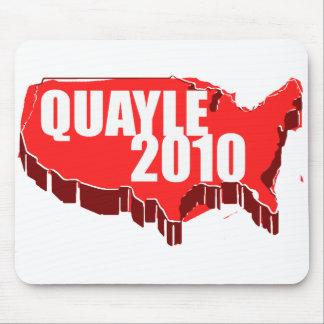QUAYLE 2010 MOUSE PAD