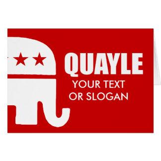 QUAYLE CARDS