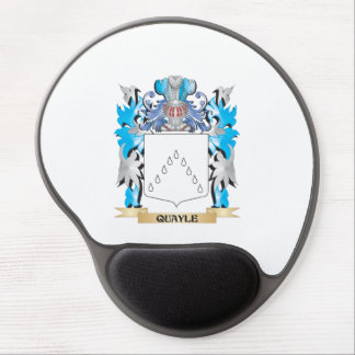 Quayle Coat of Arms - Family Crest Gel Mouse Pad