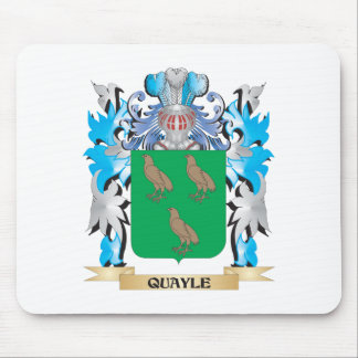 Quayle Coat of Arms - Family Crest Mouse Pad
