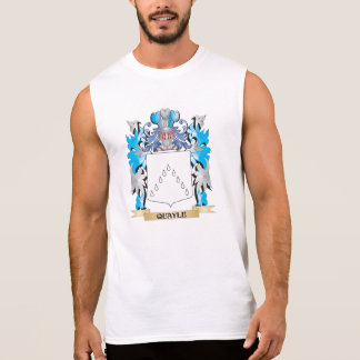 Quayle Coat of Arms - Family Crest Sleeveless Tee
