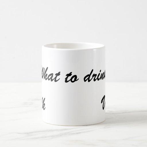 ¿Qué a beber? Taza Mágica