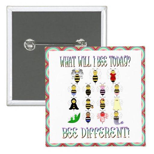 Qué abeja de I abotonará hoy Pins