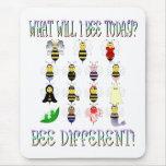 Qué abeja hoy Mousepad de I Tapete De Raton