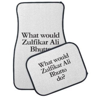qué Ali zulfikar bhutto haría Alfombrilla De Coche