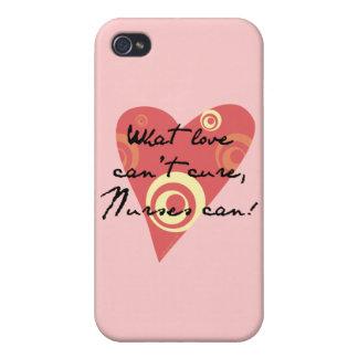 ¡Qué amor no puede curar, las enfermeras pueden! iPhone 4/4S Funda