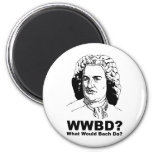 Qué Bach haría Imán Para Frigorífico