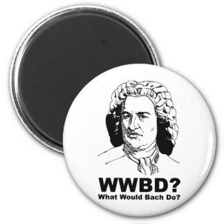 Qué Bach haría Imán Redondo 5 Cm