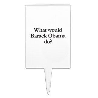 qué Barack Obama haría Decoraciones Para Tartas