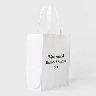 qué Barack Obama haría Bolsas Para La Compra