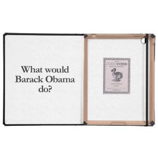 qué Barack Obama haría