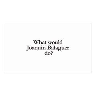 qué blaguer de Joaquín haría Tarjetas De Visita