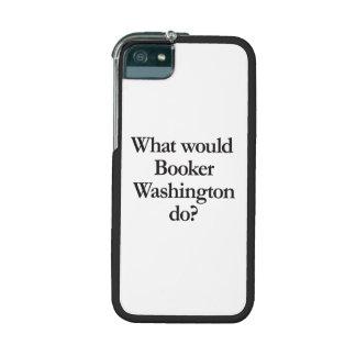 qué booker Washington haría